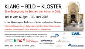 KLANG – BILD –KLOSTER Programm 2008
