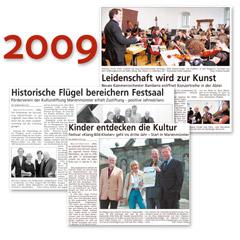 KLANG BILD KLOSTER Presseschau 2009