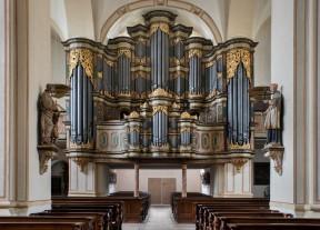 Die Johann Patroclus Möller-Orgel in der Abteikirche Marienmünster