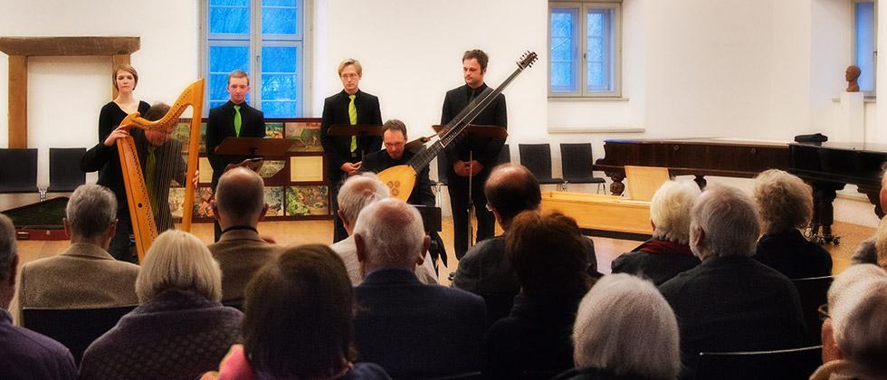 Konzert im Konzertsaal der Kulturstiftung Marienmünster, veranstaltet von den Musikfreunden
