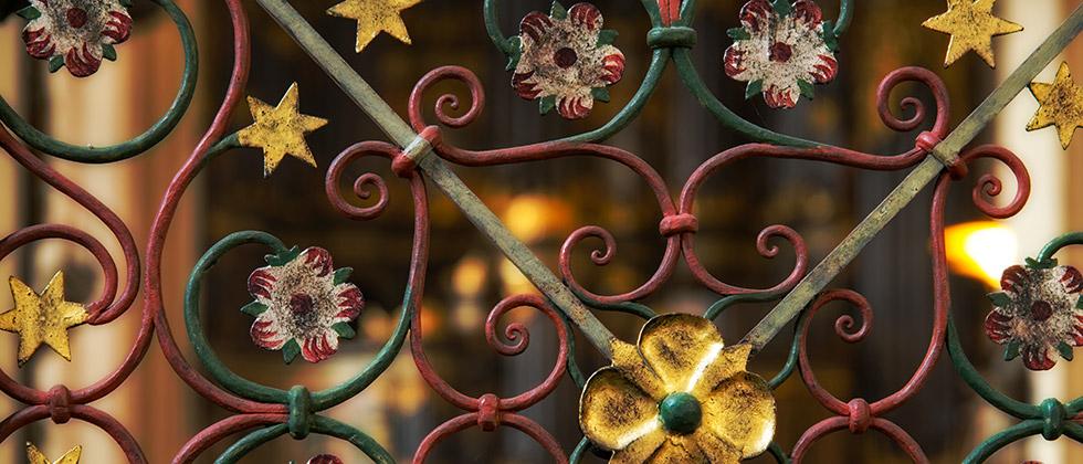Chorschranken-Gitter in der Abteikirche Marienmünster